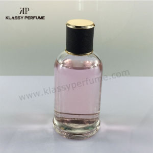 New Glass Perfume Bottle with Snake Leather Cap