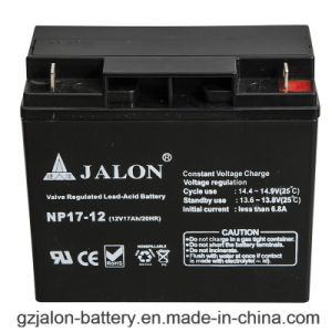 Long Life Sealed Lead Acid Battery for LED Light (12V17AH)