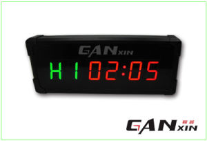 [Ganxin] 3 Inch Mini Screen Fitness Digital LED Clock with World Time pictures & photos
