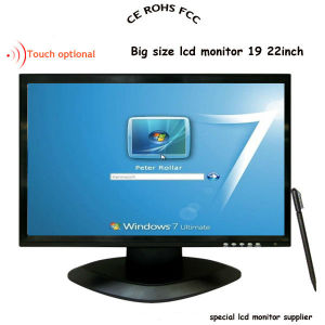22 Inch LCD PC Monitor with Touch Screen pictures & photos