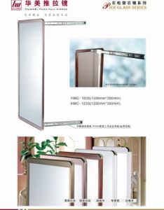 Wardrobe Sliding Bathroom Mirror with Frame in Full Length pictures & photos