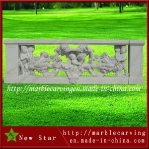 Modern Carved Marble Balustrade for Garden Terrace pictures & photos