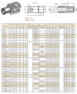 Pneumatic Cylinder Clevis Forks (G4X8) pictures & photos