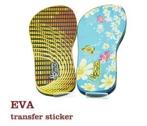 EVA Slipper Heat Transfer Sticker for Heat Transfer Press pictures & photos
