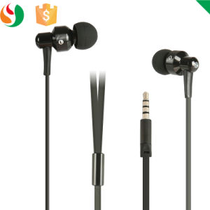 in-Ear Style Wired Metal Earphones with Mic pictures & photos