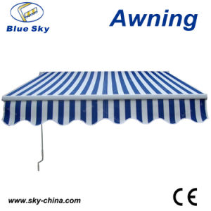 Economic Garden Prefab Remote Control Retractable Awning (B2100) pictures & photos