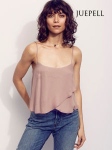 Shoft Beach Sexy Chiffon Crop Women Tank Top pictures & photos