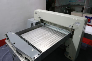 Full Automatic Paper Cutting Machine (QZ-92CT KD) pictures & photos