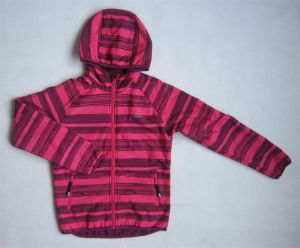 Children′s High Quality Soft Shell Jacket with Hood