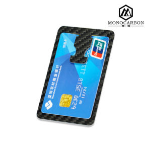 Custom Multifunctional Flat Carbon Fibre Money Clip Card Holder Bottle Opener pictures & photos