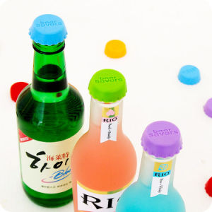 Customized Logo Silicone Stopper for Wine Bottle pictures & photos
