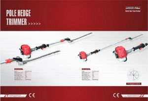 Pole Hedge Trimmer Powered by Mitsubishi Engine (TU26) (GHL-M26-01) pictures & photos