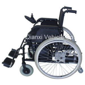Easy Foldalbe Electric Wheelchair for Elderly - 102fl pictures & photos