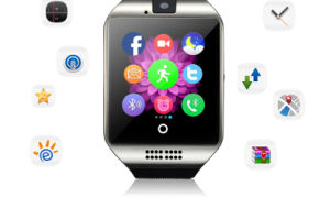 GSM Smart Watch Mobile Phone Wrist Arc Screen Cameras pictures & photos
