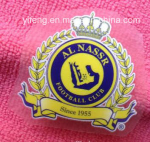 Heat Transfer Labers Stickers Customize Logo Printing for T-Shirts pictures & photos