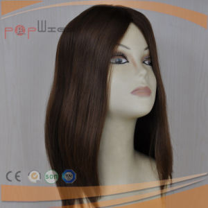 Good Hand Feeling in Stock Jewish Kosher Silk Top Wig pictures & photos