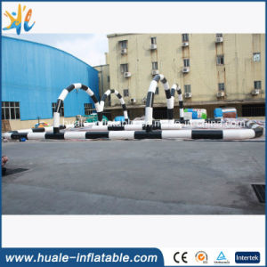 Factory PVC Race Road Air Sports Game Inflatable Race Track pictures & photos