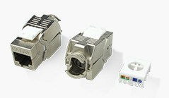 180 Degree Tooless RJ45 Keystone Jack