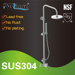 Stainless Steel 304 Thermostatic Shower Faucet (AB209) pictures & photos