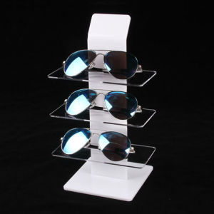 Retail Eyewear Display Stand with 3 Tiers, Acrylic Sunglasses Display pictures & photos
