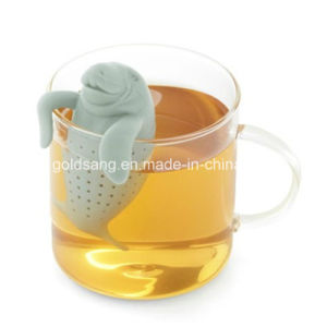 Fashion Silicone Rubber Lion Shape Tea Infuser pictures & photos