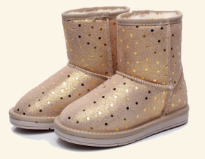 New Design Warm Flat Children Boots (TX 43) pictures & photos