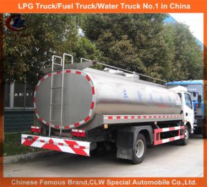 12m3 Tanker Milk Truck for 4X2 Farm Milk Delivery Truck pictures & photos