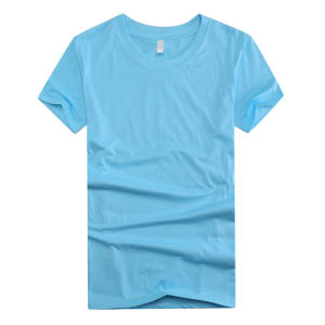 2016 Polyester Short Sleeve O Neck Custom T Shirt for Men pictures & photos