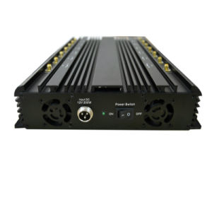 Universal Desktop Jammer All Frequency 130-2700MHz for 2g 3G 4G Cellular Phone, GPS, WiFi, Bluetooth, Lojack, RF Remote Control Jammer pictures & photos