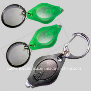 Cheap LED Flashing Keyring with Logo Printed (3032) pictures & photos