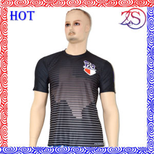 Custom Various Styles Men′s Polyester T-Shirt pictures & photos