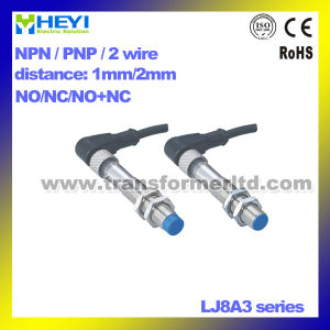 Inductance Proximity Switch (LJ8A3 series) UTP No / Nc/ No+Nc Plug-in Proximity Sensor with CE pictures & photos