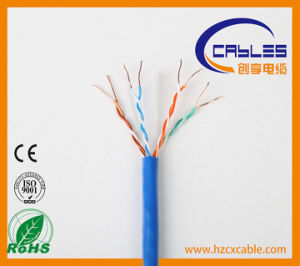 Outdoor Network Cable CAT6 with RoHS/Ce/ISO pictures & photos