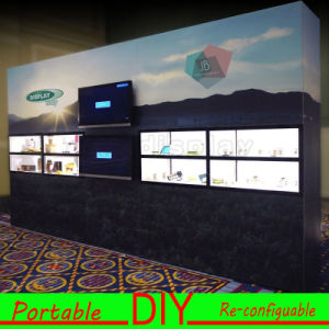 Custom Design Portable Modular DIY Graphic Trade Show Exhibition Backdrop pictures & photos