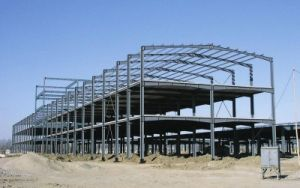 Light Prefabricated Steel Structure Warehouse Workshop Shed pictures & photos