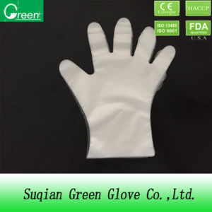 Cheap Disposable Clear TPE/PE/CPE Gloves pictures & photos