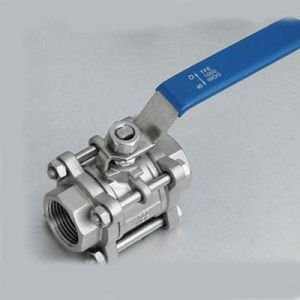 2000wog Ss304/316 Flanged Ball Valve with 3PC pictures & photos