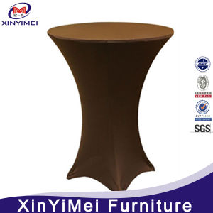 Lycra Stretch Fitted Cocktail Dry Bar Spandex Table Cloth Covers Wedding Party pictures & photos