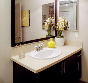 Quartz Stone Australian Standard Modern Bathroom Vanity pictures & photos