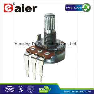 Vertical Type 16mm Linear Taper 5k Ohm Volume Slide Potentiometer pictures & photos