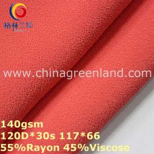 Dyeing Rayon Viscose Chiffon Fabric for Woman Garment (GLLML315) pictures & photos
