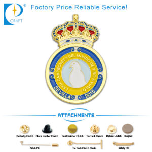 Promotion Fashion Enamel Badge for Pin pictures & photos