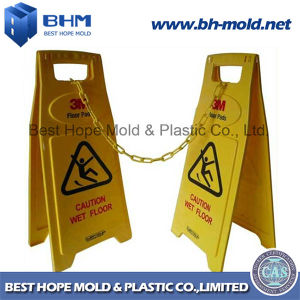 Plastic Injection Mould for Safety Sign (Caution Wet Floor) pictures & photos