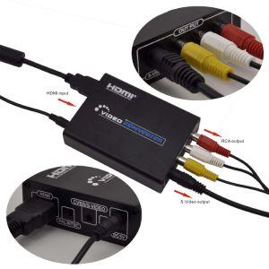 HDMI to RCA AV/S-Video Converter (720P / 1080P HD Upscaler) pictures & photos