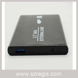 Aluminum USB3.0 IDE Interface HDD Enclosure Maximum Support 750g pictures & photos