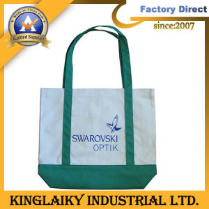 Shopping Handbag Jute Bag with Logo/Pattern for Gift (NPVC-1009) pictures & photos