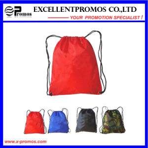 Colorful Printed Polyester Drawstring Backpack (EP-B6192) pictures & photos