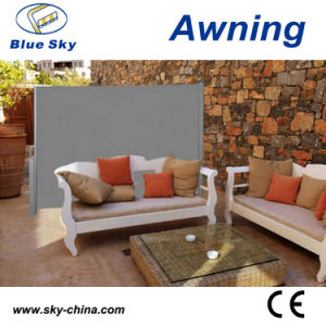 Aluminum Polyester Invisible Screen Awning for Deck pictures & photos