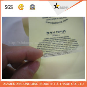 Waterproof Transparent Plastic Paper Epoxy Self Adhesive Label Printing Sticker pictures & photos