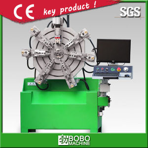 CNC Camless Spring Mking Machine Steel Wire Forming Machine Without Cams pictures & photos